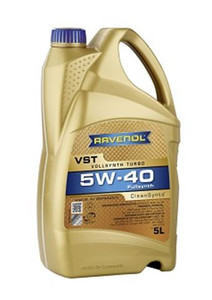 Ravenol Turbo VST 5W40 CleanSynto 5L