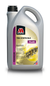 Millers Oils TRX Synth 75w80 GL5 5L