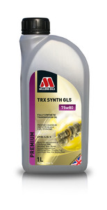 Millers Oils TRX Synth 75w80 GL5 1L